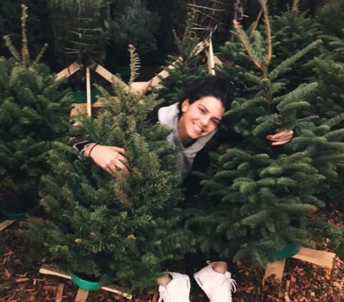 Kendall Jenner choisit son sapin de Noël