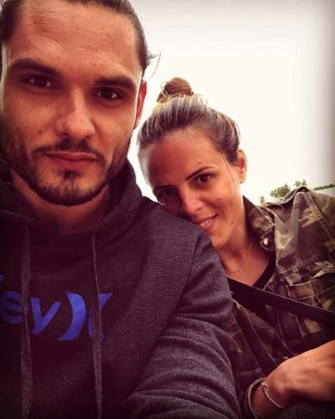 Selfie entre frère et sœur pour Florent et Laure Manaudou.
