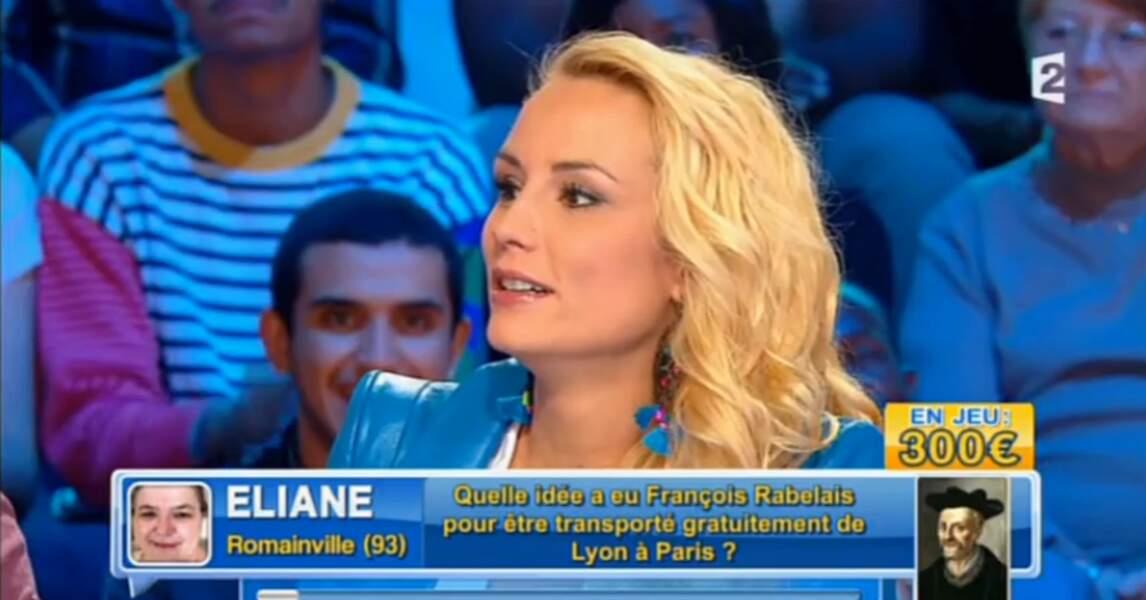 On aime beaucoup plus la jolie veste bleue d'Elodie Gossuin