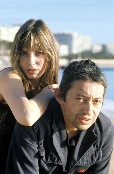 Jane Birkin et Serge Gainsbourg, couple mythique s'il en est