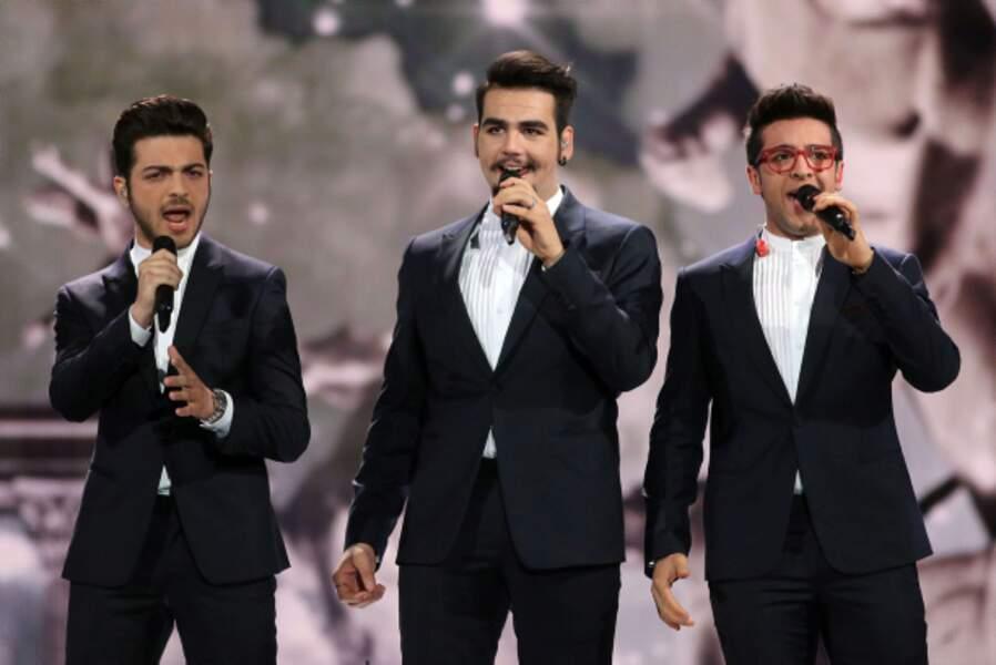 Le trio de gentlemen italiens Il Volo