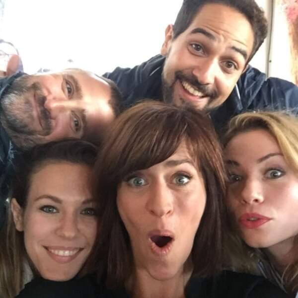 Les acteurs de Demain nous appartient ont offert aux lecteurs de Télé Loisirs un superbe selfie !