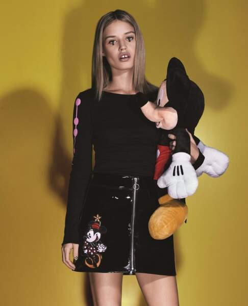 Minnie était également au rendez-vous sur cette jupe de Georgia May Jagger.