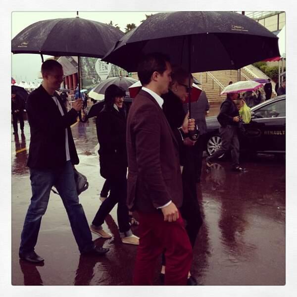 Sous les parapluies : Nicole Kidman. Si si, promis.