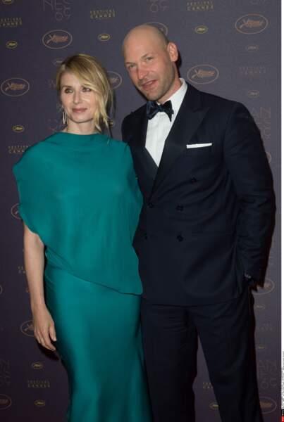 L'acteur Corey Stoll (qui joue dans Café Society) et sa femme Nadia Bowers à la soirée de gala d'ouverture