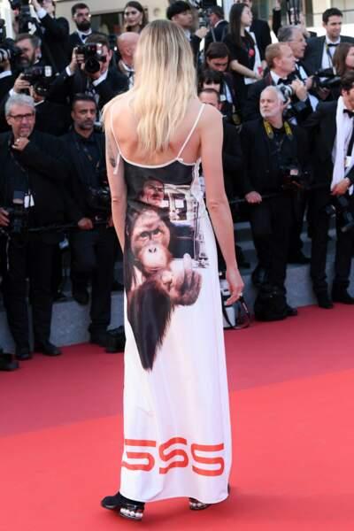 ... la robe la plus moche du festival !