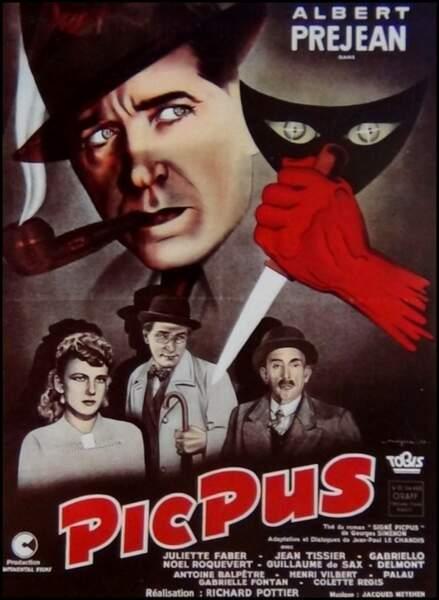 Picpus, film policier de Richard Pottier (1943).