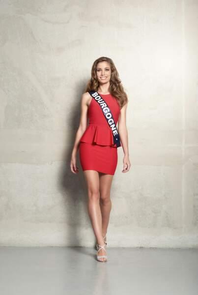 Jade Vélon, Miss Bourgogne