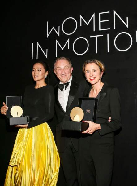 L'actrice Gong Li ravie d'avoir été récompensée !