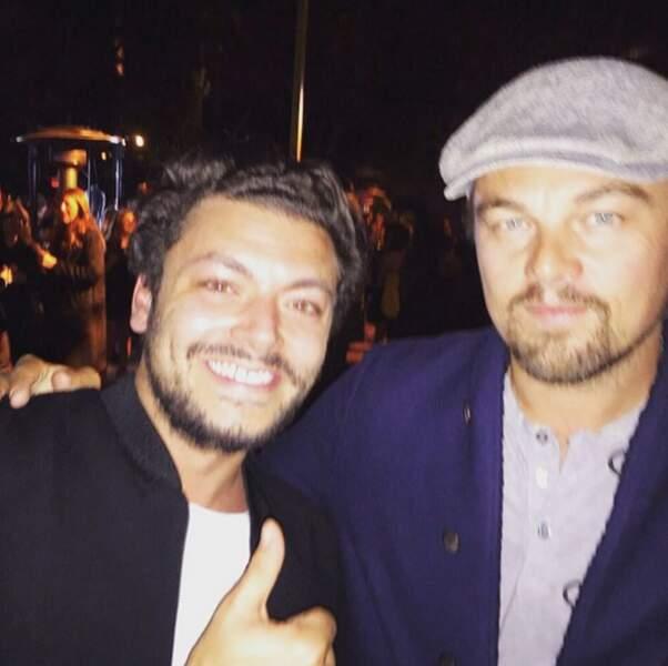Mais surtout : Kev Adams a rencontré son idole, Leonardo DiCaprio !