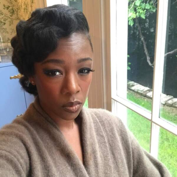 Mais on valide les plis wavy de Samira Wiley d'Orange is the new black.