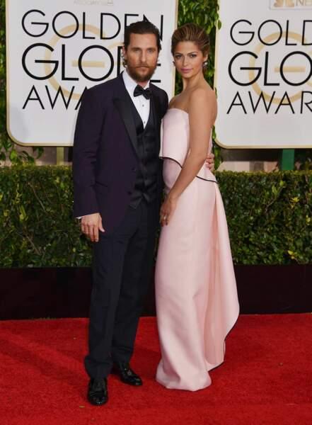 Un autre couple ? Matthew McConaughey et Camila Alves