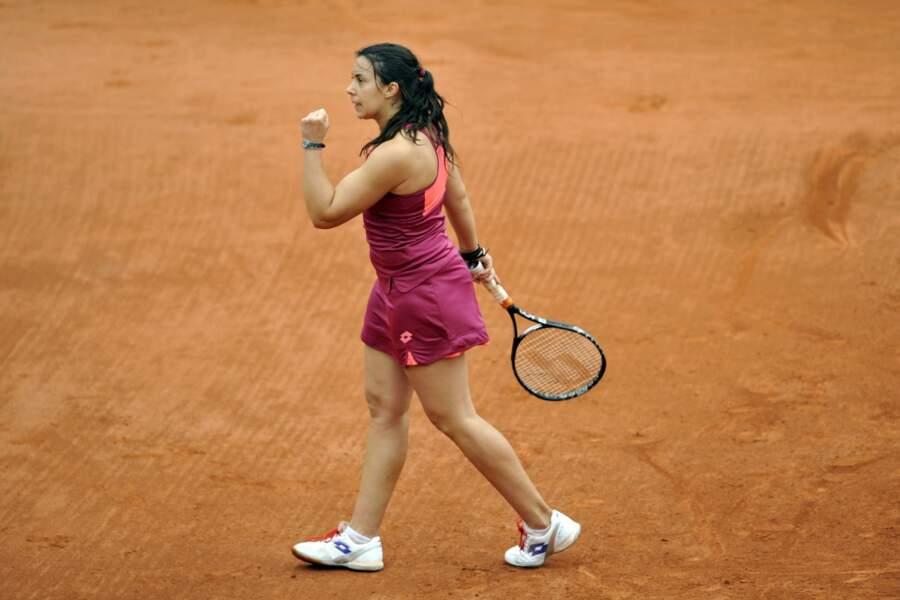 Au bout de 3h12 de jeu, elle a fini par venir à bout de Govortsova en trois sets (7-6, 4-6, 6-3).