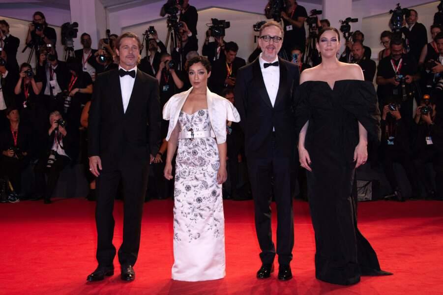 Brad Pitt, Ruth Negga, James Gray et Liv Tyler pour présenter Ad Astra