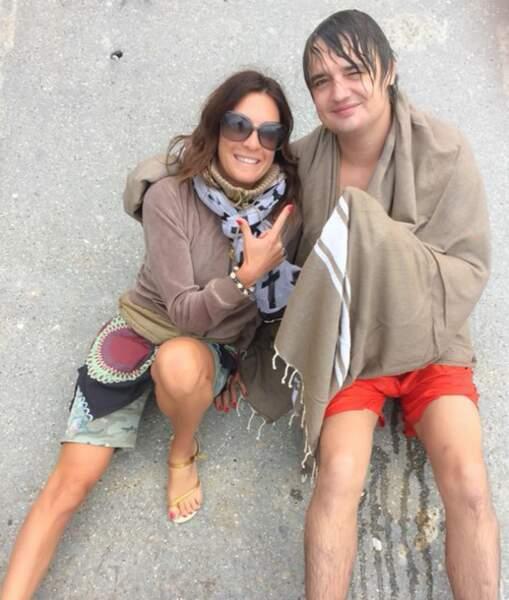 Rencontres au sommet ce week-end : Eve Angeli était avec Pete Doherty.