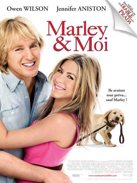 MARLEY ET MOI (2008) : Un chien comme Marley, ça vous change sacrément la vie