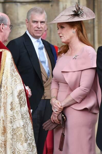 Fergie accompagnait son ex mari le prince Andrew au royal wedding