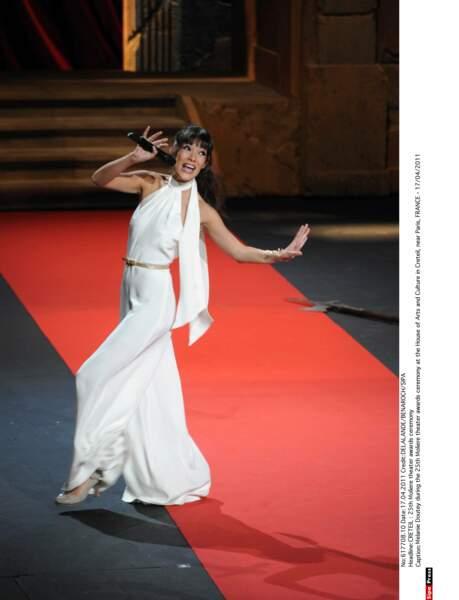 Sur le red carpet, elle sait mettre l'ambiance !