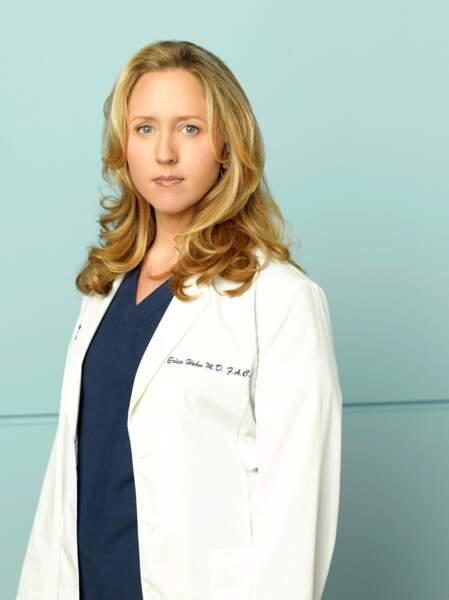 Dr. Erica Hahn (2006-2008) : Brooke Smith quitte la série en saison 5 pour désaccords avec la production