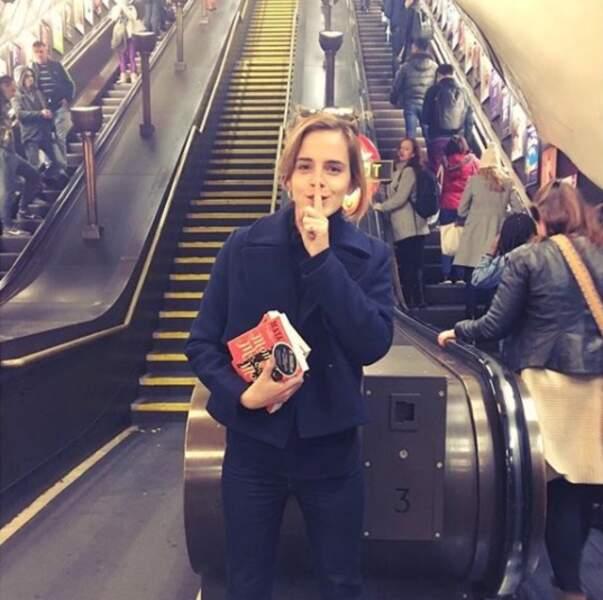 Chut, il ne faut pas le dire mais Emma Watson est célibataire