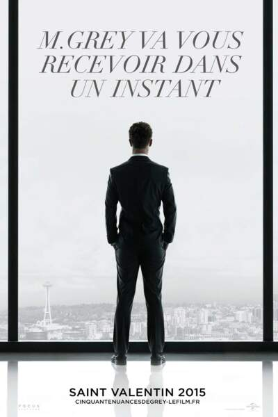 Cinquante nuances de Grey, le 11 février au cinéma