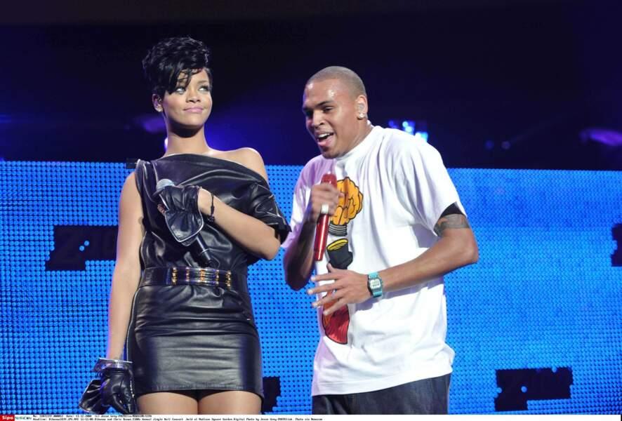 Ça continue avec l'ex-couple Rihanna / Chris Brown...