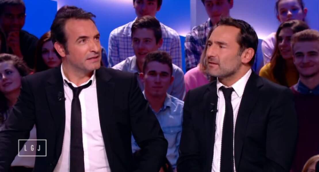 Jean Dujardin et Gilles Lellouche sont de vrais siamois !
