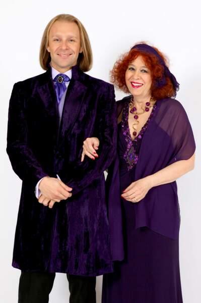 Dracula et Yvette Horner ? Non, Morgan et Pascale, les nouvelles stars de Qui veut épouser mon fils ?