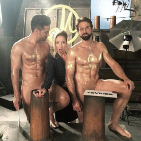 Les conditions de tournage d'Audrey Lamy étaient clairement optimales.