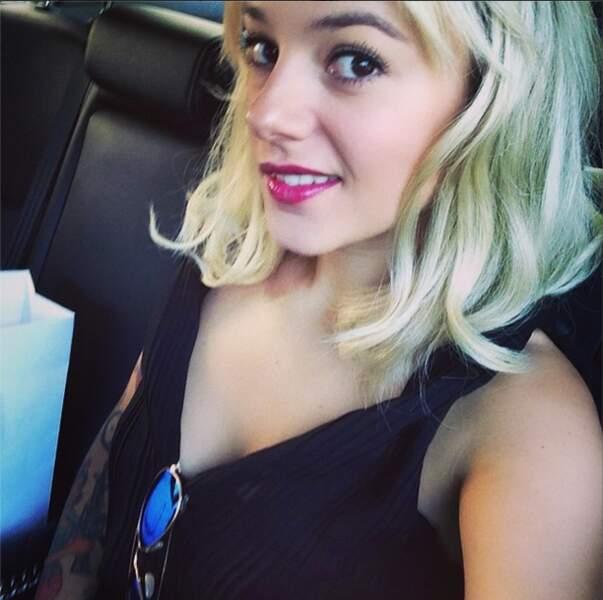 On termine par Alizée qui continue d'être blonde