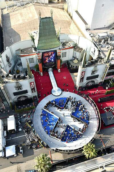 Le Chinese Theater aux couleurs des X-Men