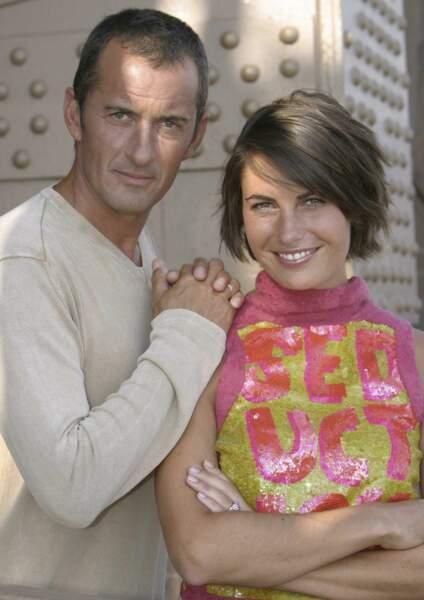 Alessandra Sublet et Christophe Dechavanne pour Combien ça coûte ? (2003-2004)