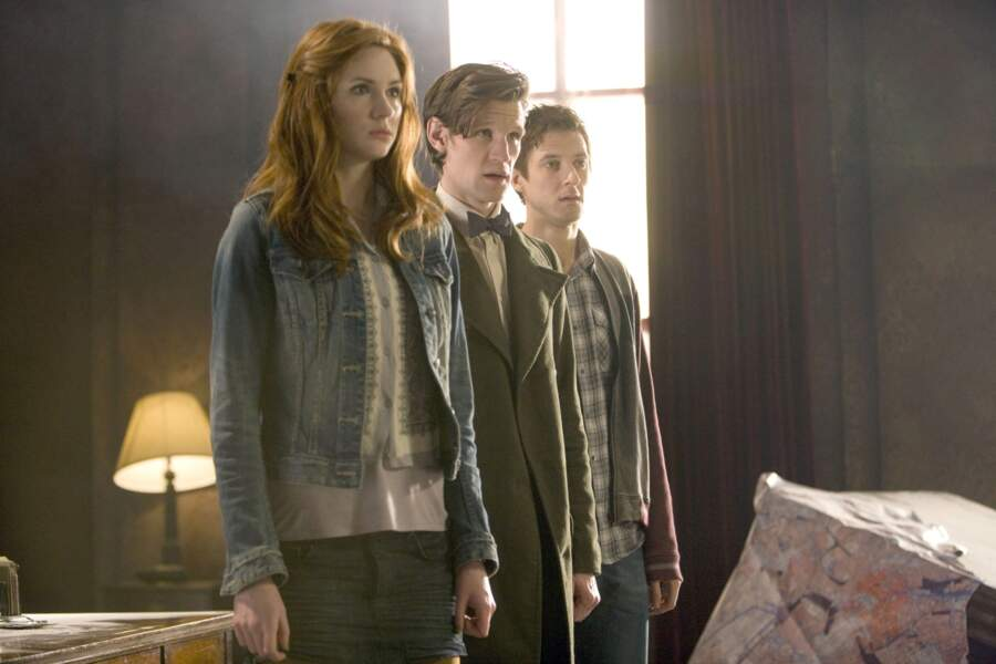 Karen Gillan a accompagné le Docteur joué par Matt Smith