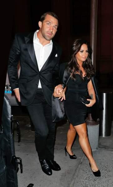 Et Demi Lovato aussi : son conjoint Luke Rockhold est pro de MMA.