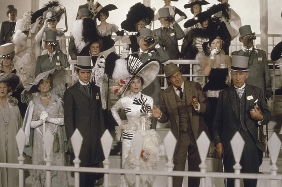"""Pour la comédie musicale """"My fair lady"""" (Cukor, 1964), c'est une profusion de costumes signés Cecil Beaton"""