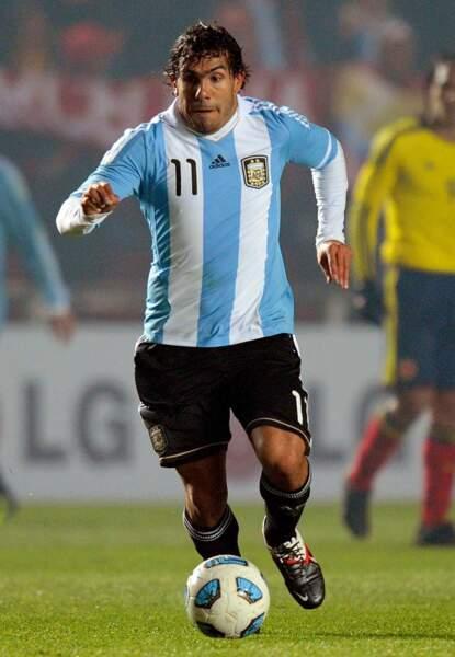 Carlos Tévez (Argentine)