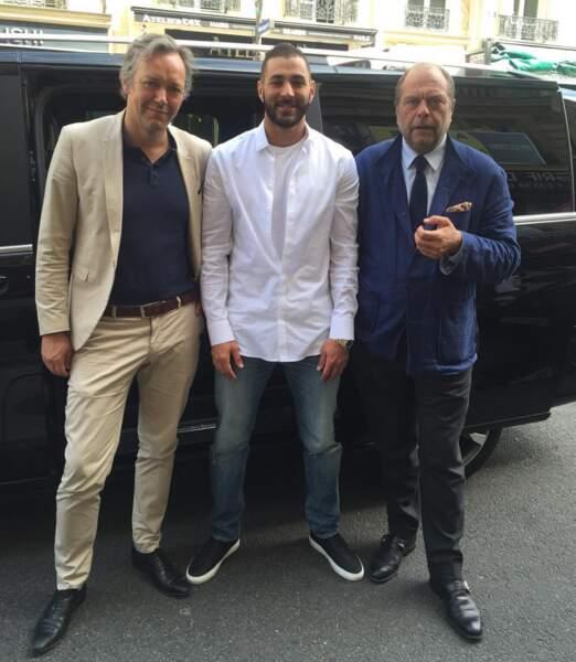 Entre deux destinations de rêve, rencontre en France avec ses avocats Sylvain Cormier et Eric Dupond-Moretti…