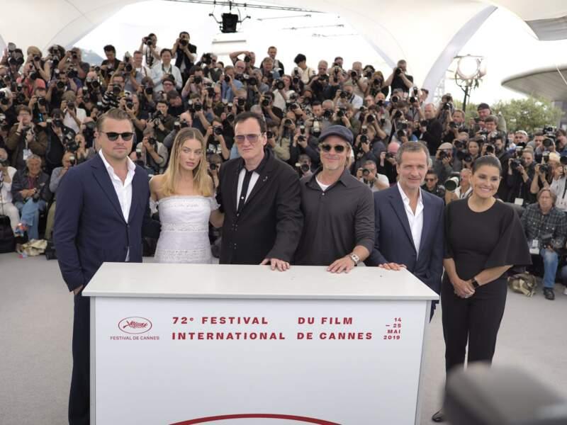 L'équipe du film présente à Cannes