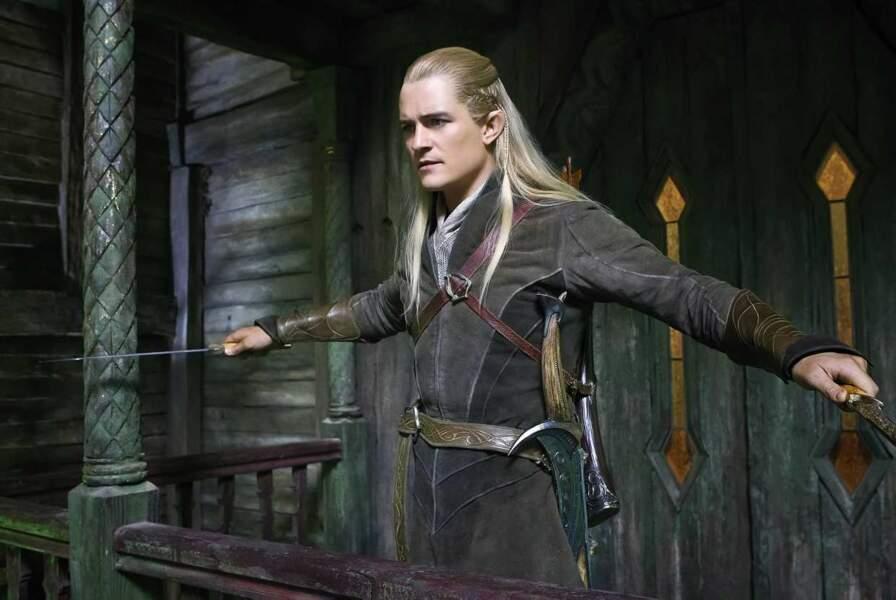 Orlando Bloom alias Legolas dans Le Hobbit : La désolation de Smaug