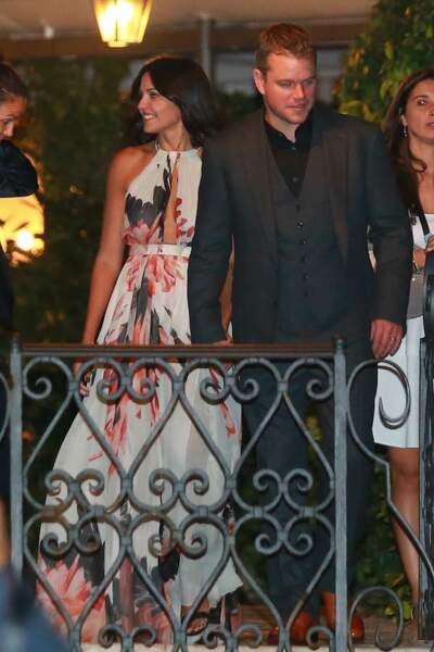 Matt Damon et sa chérie Luciana Barroso se sont mis sur leur 31