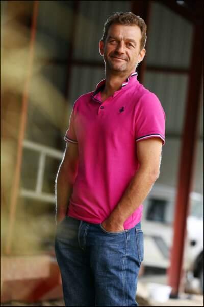Stéphane, 42 ans, éleveur de vaches allaitantes.
