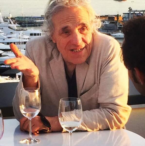 Nos confrères de Voici ont immortalisé Abel Ferrara !