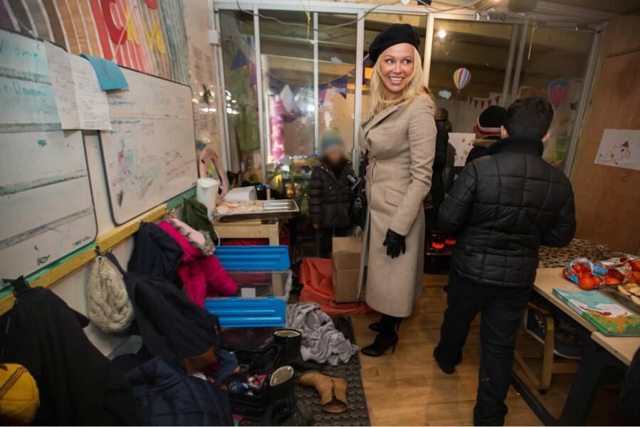 Pamela Anderson s'engage depuis plusieurs années pour les réfugiés et voulait visiter Calais depuis longtemps.