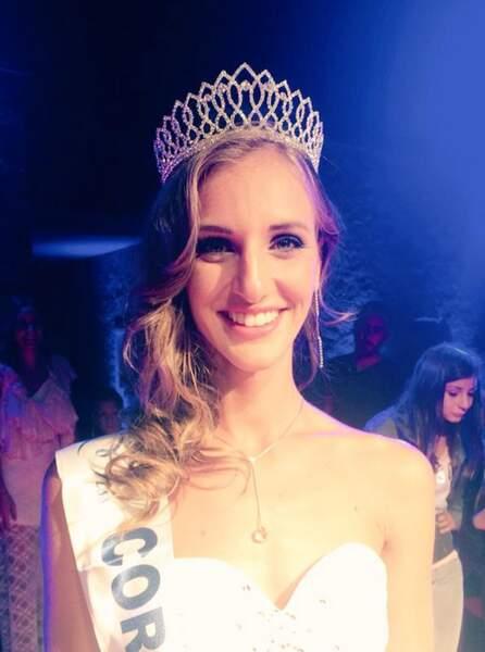 Jessica Garcia est Miss Corse 2015