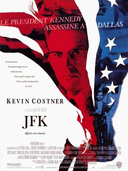 JFK, film policier d'Oliver Stone (1991).