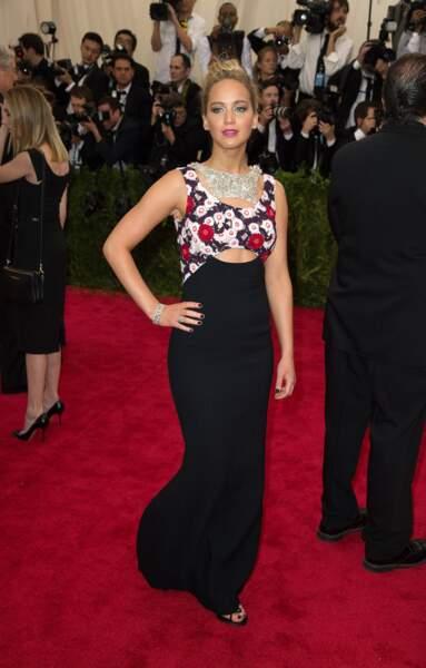 La toujours très glamour Jennifer Lawrence