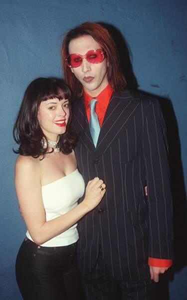 En 1998, l'actrice sortait avec Marilyn Manson