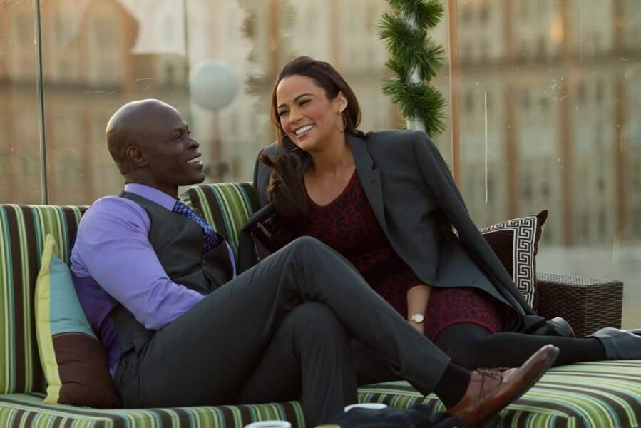 Dans Destination love (2014), elle retrouve son ex-boyfriend Djimon Hounsou