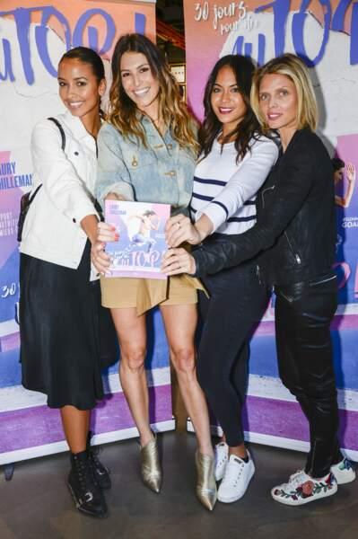 Laury Thilleman entourée de ses copines Miss France