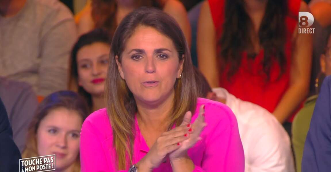 Valérie Benaïm a elle aussi mis de la couleur